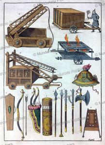 ancient chinese weaponry, g. bigatti, 1817