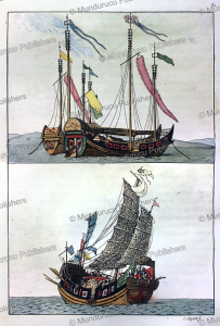 Chinese junks, G. Bigatti, 1817 | Photos and Images | Travel