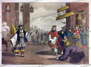 chinese play, gaetano zancon, 1817
