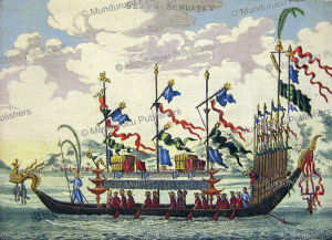 Imperial dragon boat, Johan Niehof, 1665 | Photos and Images | Travel