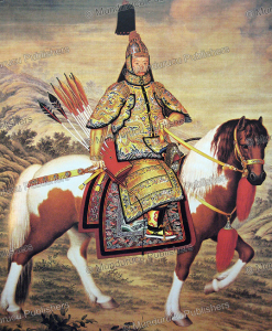 Emperor Qianlong in ceremonial armour, Giuseppe Castiglione, 1758 | Photos and Images | Travel