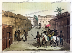 punishment and exile of people in benin (dahomey), angelo biasioli, 1819