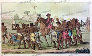 Procession of the King of Benin (Dahomey), Angelo Biasioli, 1819 | Photos and Images | Travel