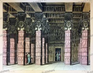 temple of tentyre, antonio rancati, 1815