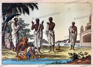 various sects of brahmin, hindustan or india, gaetano zancon, 1815