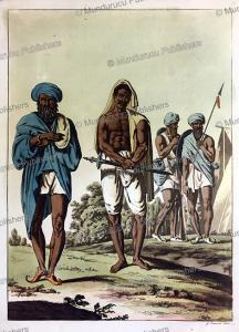 marat's and sikhs in hindustan or india, gaetano zancon, 1815