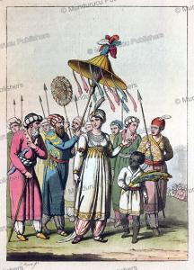 roshanara begum, mughal princess, g. bigatti, 1815