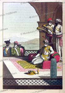 raja of tanjore, g. bigatti, 1815