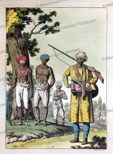 Rajput's soldiers in Hindustan or India, Gaetano Zancon, 1815 | Photos and Images | Travel