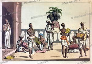 Music and instruments in Calcutta, India, Gaetano Zancon, 1815 | Photos and Images | Travel
