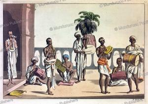 music and instruments in calcutta, india, gaetano zancon, 1815