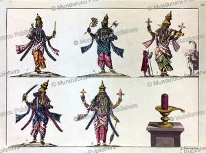 the other incarnations of vishnu, india, gaetano zancon, 1815