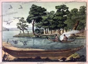 Navigation in Tasmania, Paolo Fumagalli, 1815 | Photos and Images | Travel