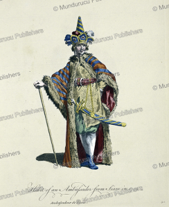Ambassador from Siam in 1749, Joseph-Marie Vien, 1760 | Photos and Images | Travel