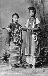 Hill tribes, Northern Siam, Raphael Tuck & Sons, 1921 | Photos and Images | Travel