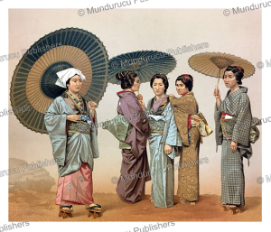Japanese ladies, Auguste Racinet, 1888 | Photos and Images | Travel