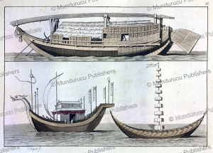 Japanese boats, G. Bigatti, 1815 | Photos and Images | Travel
