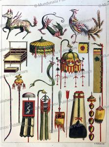 japanese emblems and insignia, gaetano zancon, 1817