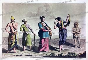 Dress of Javanese people, Java, K. Bonatti, 1818 | Photos and Images | Travel