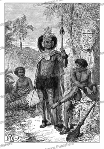Natives of the Marquesas Islands, Paul Philippoteaux, 1870 | Photos and Images | Travel