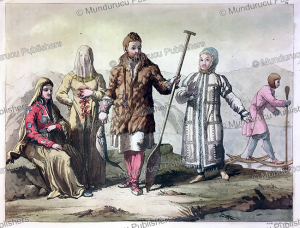 ostyak people, gallo gallina, 1818