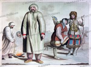 samoyeds, f. castelli, 1818