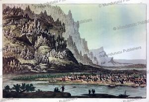 yakut village, g. castellini, 1818
