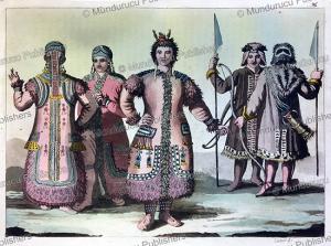 yakut people, f. castelli, 1818