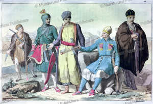 dress of people from circassia, angelo biasioli, 1818