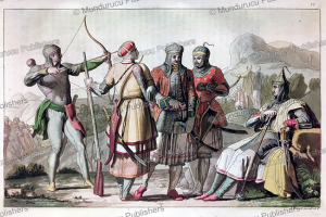 armour of the princes of circassia, angelo biasioli, 1819