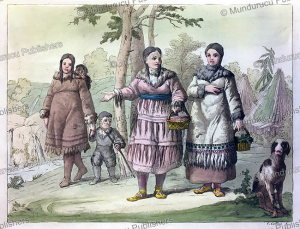 people from kamchatka, gallo gallina, 1818