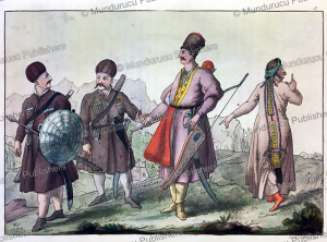 ingush people of ingushetia, russia, gallo gallina, 1818