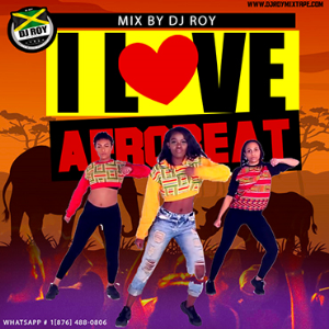 dj roy i love afrobeat mix 2019
