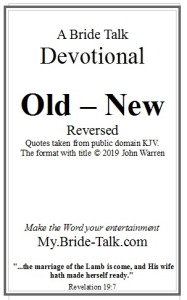 old  new devotional