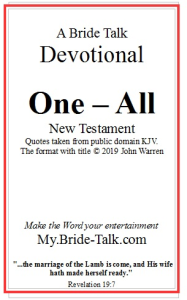 one  all   new testament devotional