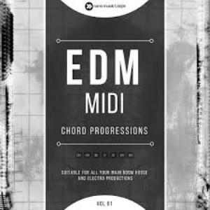 nano musik loops  edm midi chord progressions