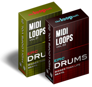 he loop loft - epic drums bundle - midi drum loops