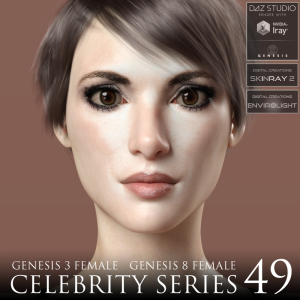 Celebrity Series 49 for Genesis 3 and Genesis 8 Female | Software | Design
