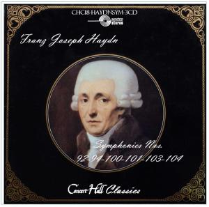 haydn: symphonies nos. 92-94-100-101-103-104