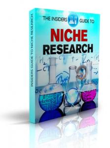 the insiders guide to niche research e-book