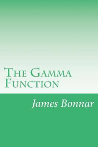 the gamma function - bonnar