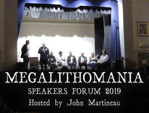 2019 megalithomania speakers forum