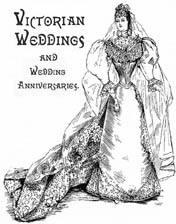 Victorian Weddings and Wedding Anniversaries, 1890s | eBooks | Beauty