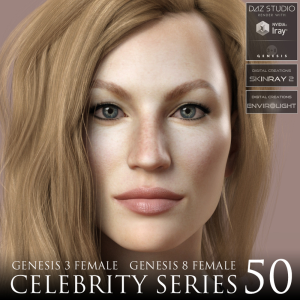 Celebrity Series 50 for Genesis 3 and Genesis 8 Female | Software | Design