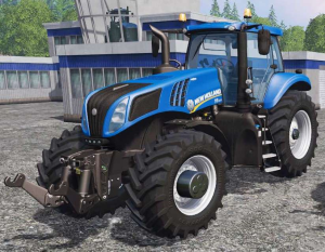 new holland t8.320, t8.350, t8.380, t8.410 with powershift transmission tractor service manual (eu)