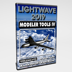 Lightwave 2019- Volume #12- Modeler Tools IV | Software | Training