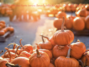 the princess poets series: beverly hills art walk and pumpkin patch
