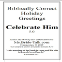 Celebrate Him - a biblically correct holiday greeting card | eBooks | Religion and Spirituality