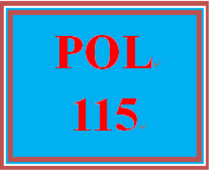 pol 115 wk 1 discussion