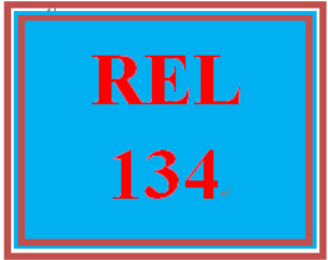 REL 134 All Discussions | eBooks | Education